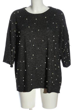 Zara  grigio chiaro puntinato stile casual
