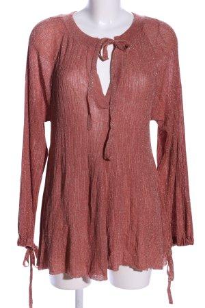 Zara Long-Bluse pink Elegant