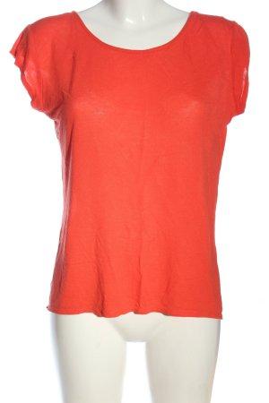 Zara Strickshirt hellorange Casual-Look
