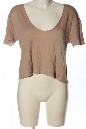Zara Strickshirt creme Casual-Look