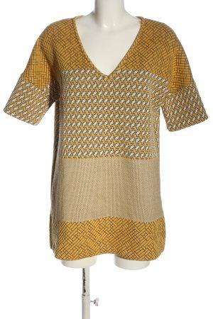 Zara Koszulka z dzianiny Na całej powierzchni W stylu casual