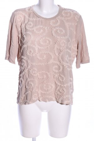 Zara Strickshirt pink Casual-Look