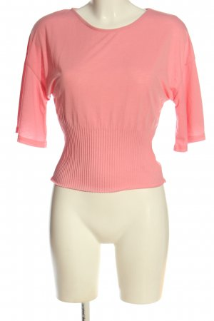 Zara Strickshirt pink Casual-Look
