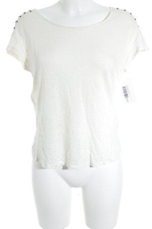 Zara Strickshirt wollweiß Street-Fashion-Look