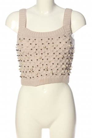 Zara Stricktop pink Casual-Look