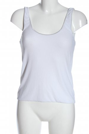 Zara Knitted Top white casual look