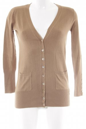 Zara Strickweste beige Casual-Look