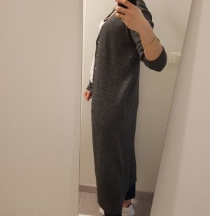 Zara Long Knitted Vest grey