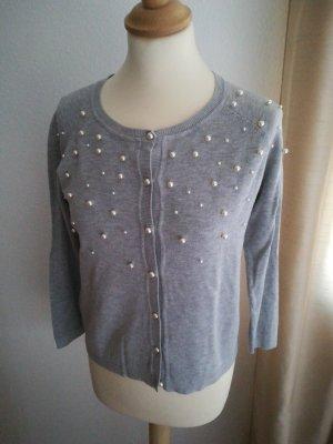 Zara Knitted Vest light grey