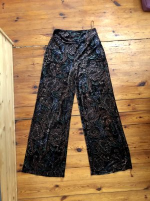 Zara suede wide trousers