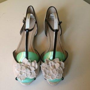 Zara süsse Ballerinas Gr 40 mit Camelien