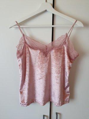Zara süße pinke Bluse