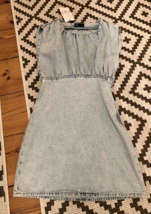 Zara ❤️ süßes Jeanskleid Kleid Jeans ❤️ S 36