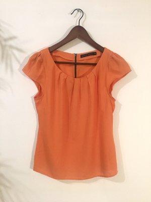 Zara Basic topje oranje