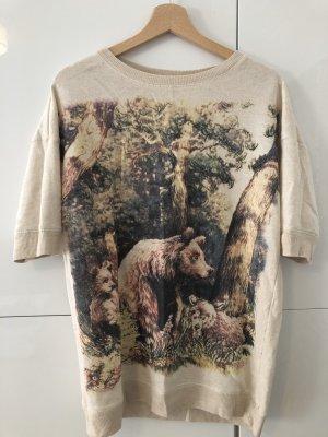 Zara Sweater Bären M Wald