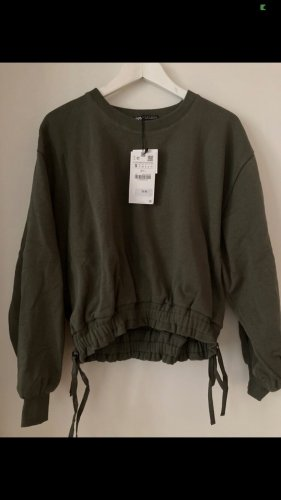 Zara Sweater Pulli neu olivgrün