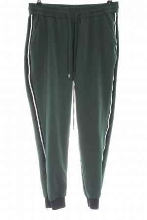 Zara Pantalon de jogging kaki style décontracté