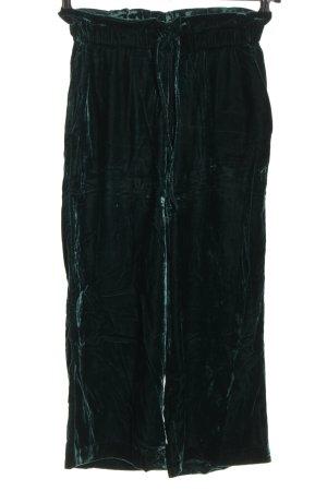 Zara Pantalone fitness verde stile casual