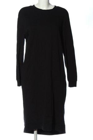 Zara Sweatkleid schwarz Casual-Look