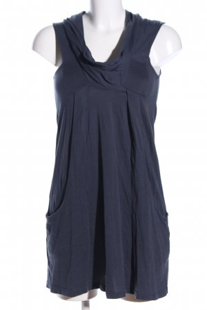 Zara Sweat Dress blue casual look