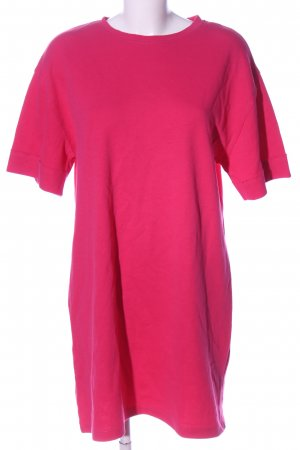 Zara Sukienka dresowa różowy W stylu casual
