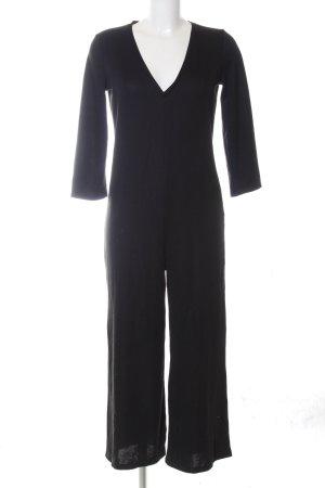 Zara Sweatkleid schwarz Business-Look