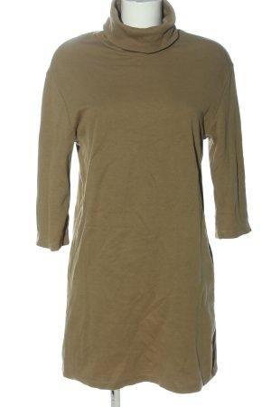 Zara Sweatkleid khaki Casual-Look
