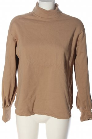 Zara Sweatshirt braun Casual-Look