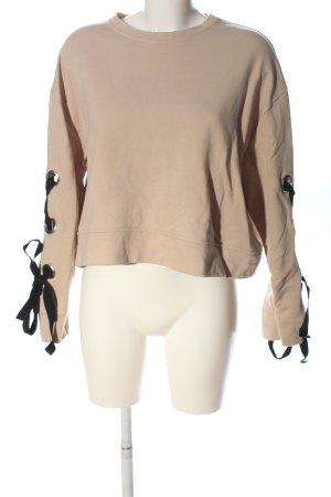 Zara Sweatshirt mehrfarbig Casual-Look