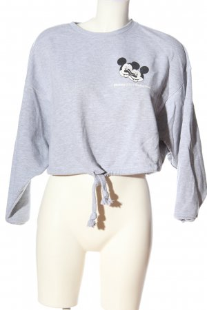 Zara Sweatshirt meliert Casual-Look