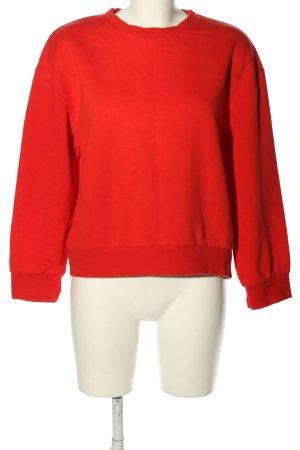 Zara Sweatshirt rot Elegant