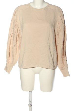 Zara Sweatshirt creme Casual-Look