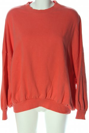 Zara Sweatshirt rot Casual-Look