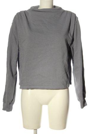 Zara Sweatshirt hellgrau Casual-Look