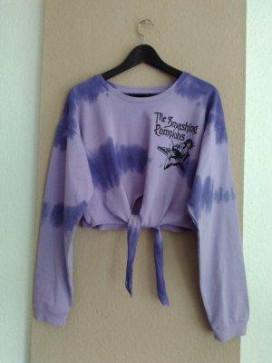 Zara Sweatshirt aus Baumwolle, Tie-Dye, Smashing Pumpkins Collection, Grösse L, neu