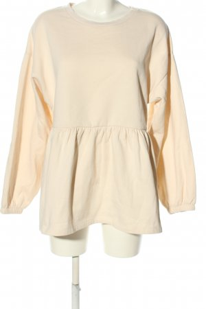 Zara Sweatshirt nude Casual-Look