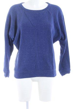 Zara Sweatshirt blau Casual-Look