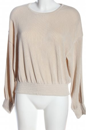 Zara Sweatshirt creme Casual-Look