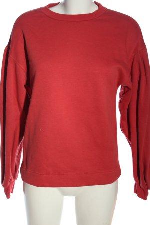 Zara Sweatshirt rot Casual-Look