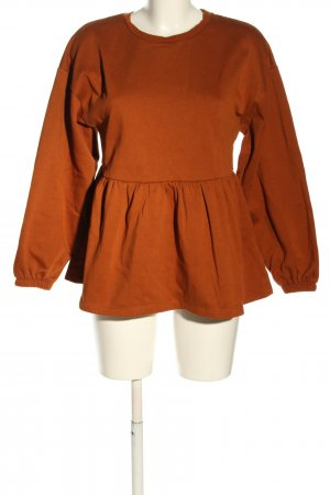 Zara Sweatshirt hellorange Casual-Look