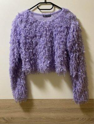 Zara Suéter lila