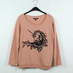 ZARA Sweatshirt Gr. M rosa schwarz