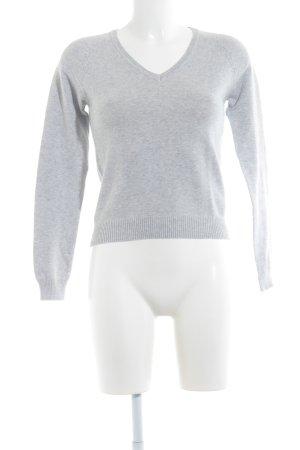 Zara Sweatshirt gris clair style décontracté