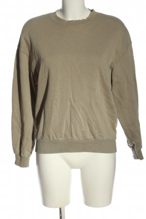 Zara Sweatshirt khaki Casual-Look