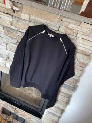 Zara Sweatshirt mit Reißverschlüssen