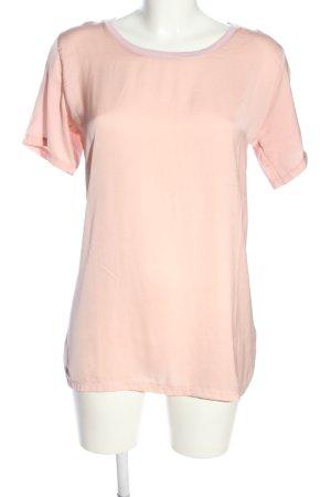 Zara T-Shirt pink Casual-Look