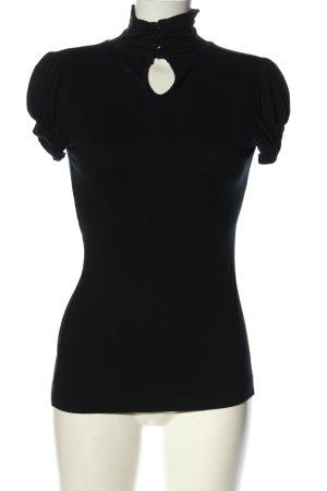 Zara T-shirt zwart casual uitstraling