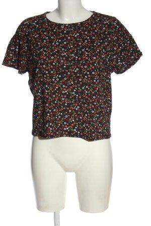 Zara T-Shirt Allover-Druck Casual-Look