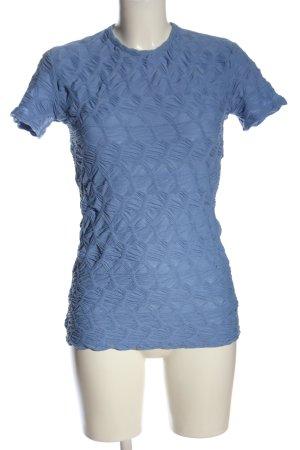 Zara T-Shirt blau Casual-Look