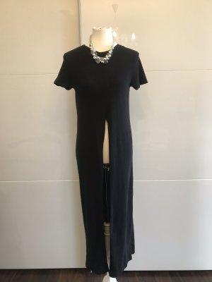 Zara Top largo negro